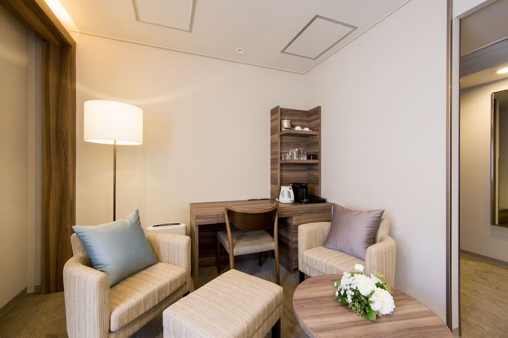 Habitación Deluxe con 2 camas individuales, 2 habitaciones, para no fumadores - Sala de estar