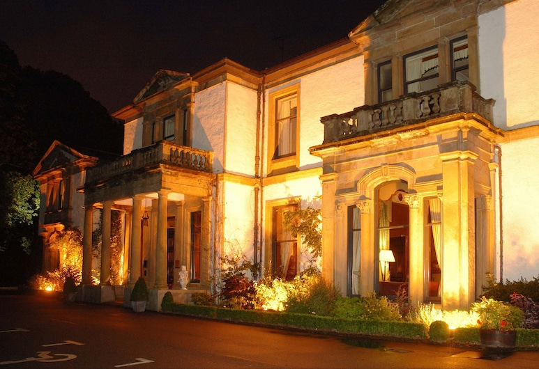 Macdonald Norwood Hall Hotel, Aberdeen, Hotel Front – Evening/Night