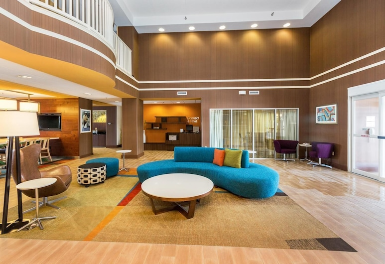 Fairfield Inn and Suites by Marriott Des Moines West, Вест-Дес-Мойнз, Фойє