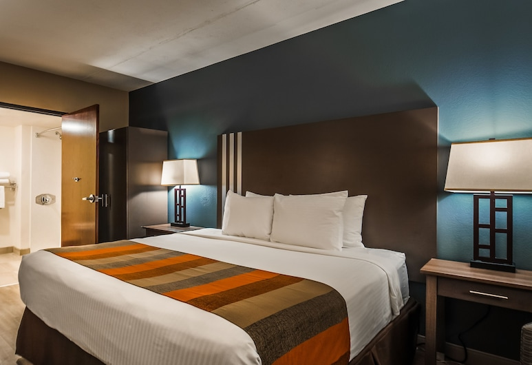 Best Western Inn of Tempe, Tempe, Standard Room, 1 King Bed, Accessible, Non Smoking, Guest Room