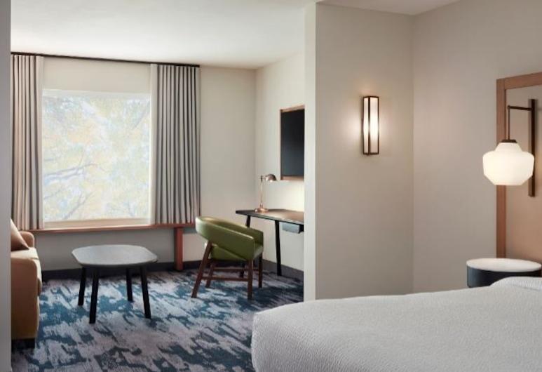 Fairfield Inn & Suites by Marriott Louisville Airport, Louisville, Chambre, 1 très grand lit et 1 canapé-lit, Chambre
