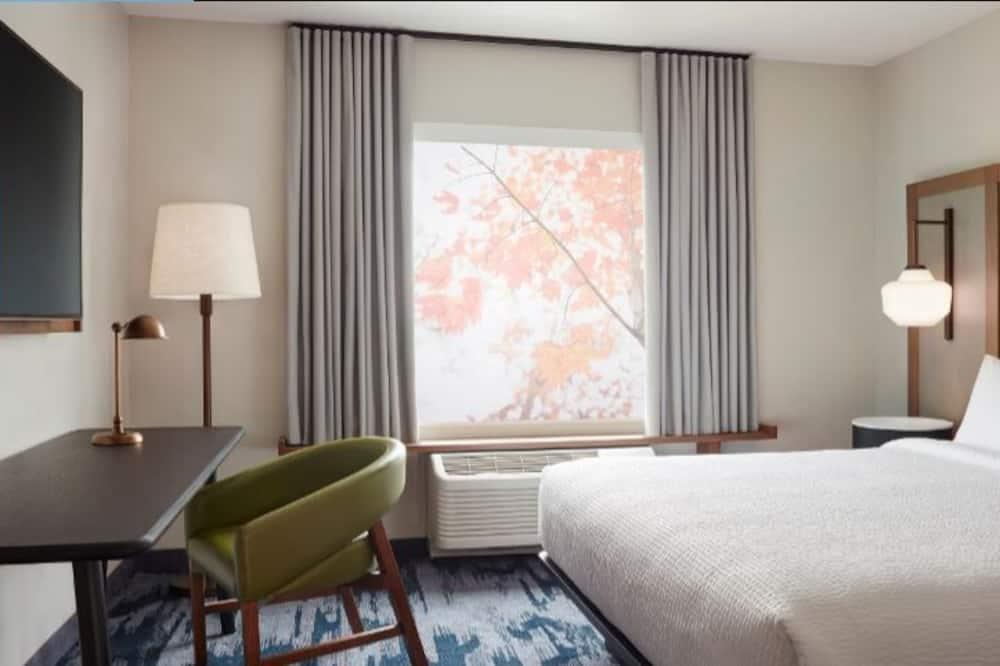 Kambarys, 1 labai didelė dvigulė lova, Nerūkantiesiems - Svečių kambarys