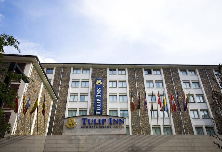 Tulip Inn Andorra Delfos Hotel, Escaldes-Engordany, Průčelí hotelu
