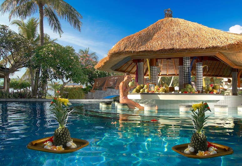 Grand Mirage Resort & Thalasso Bali, Νούσα Ντούα, Μπαρ δίπλα στην πισίνα
