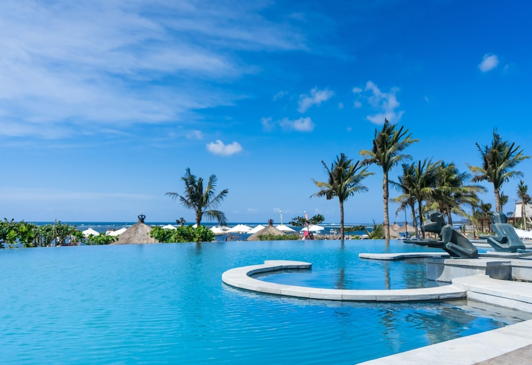 Grand Mirage Resort & Thalasso Bali, Nusa Dua, בריכה אינסוף