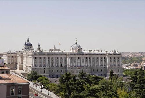Espahotel Plaza De España Madrid City View