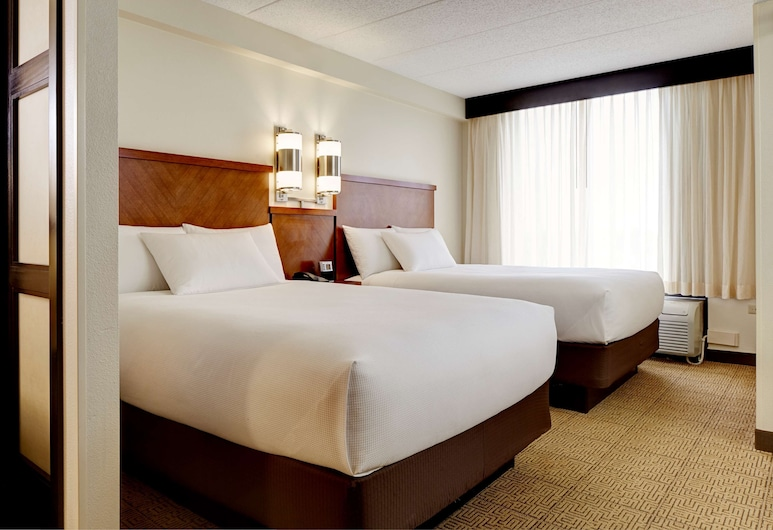 Hyatt Place Princeton, פרינסטון, חדר, 2 מיטות זוגיות, חדר אורחים