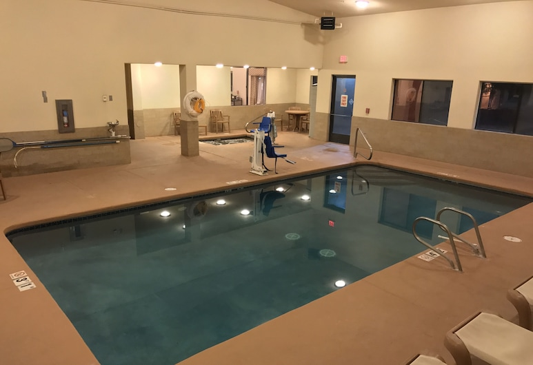 Comfort Inn Near Gila National Forest, Silversitija, Iekštelpu baseins