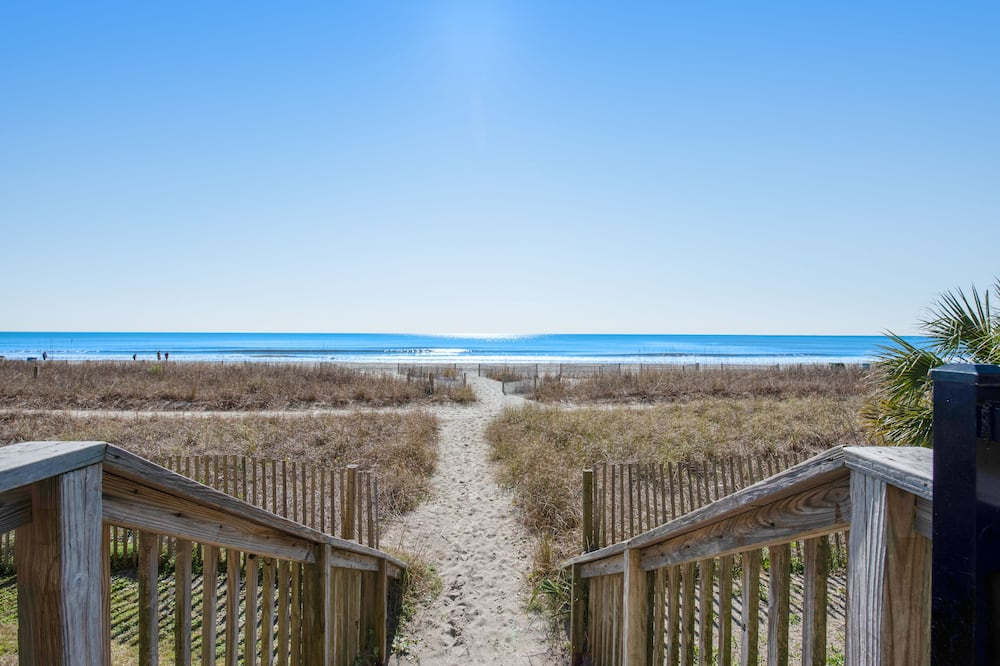 Štúdio, 1 spálňa, vírivka, výhľad na pláž (Studio ) - Pláž