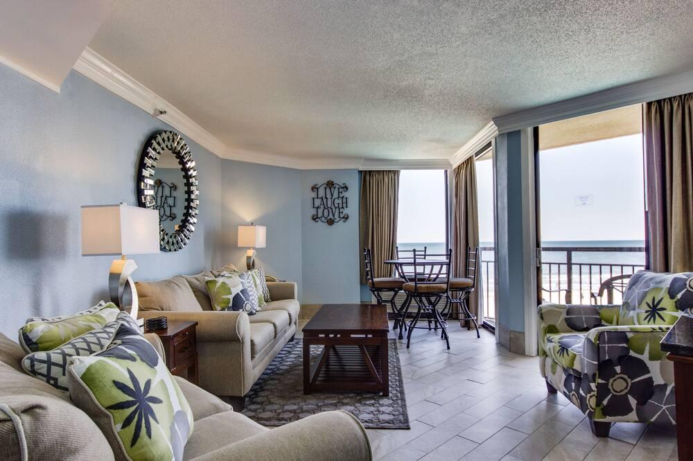 Apartmán, 1 spálňa, orientovaný smerom k oceánu - Obývačka