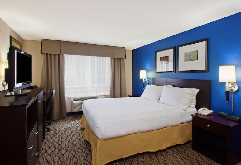 Holiday Inn Express Hotel & Suites Seattle - City Center, Seattle, Room, 1 Queen Bed, Accessible, Non Smoking (Roll-In Shower), Guest Room