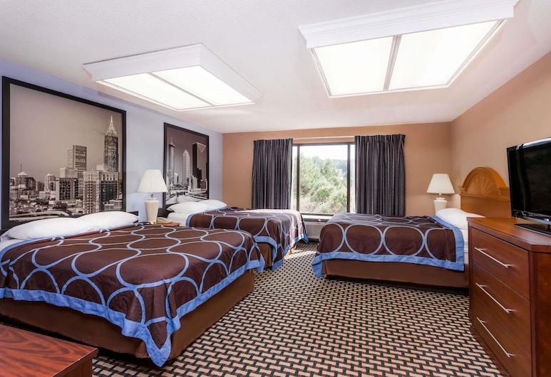 Super 8 by Wyndham Tallapoosa, טלאפוסה, חדר, מספר מיטות, מיקרוגל, חדר אורחים