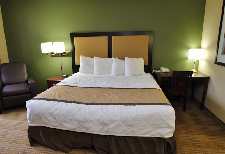 Extended Stay America - Raleigh - RDU Airport, Morrisville, Studio, 1 King Bed, Non Smoking, Guest Room