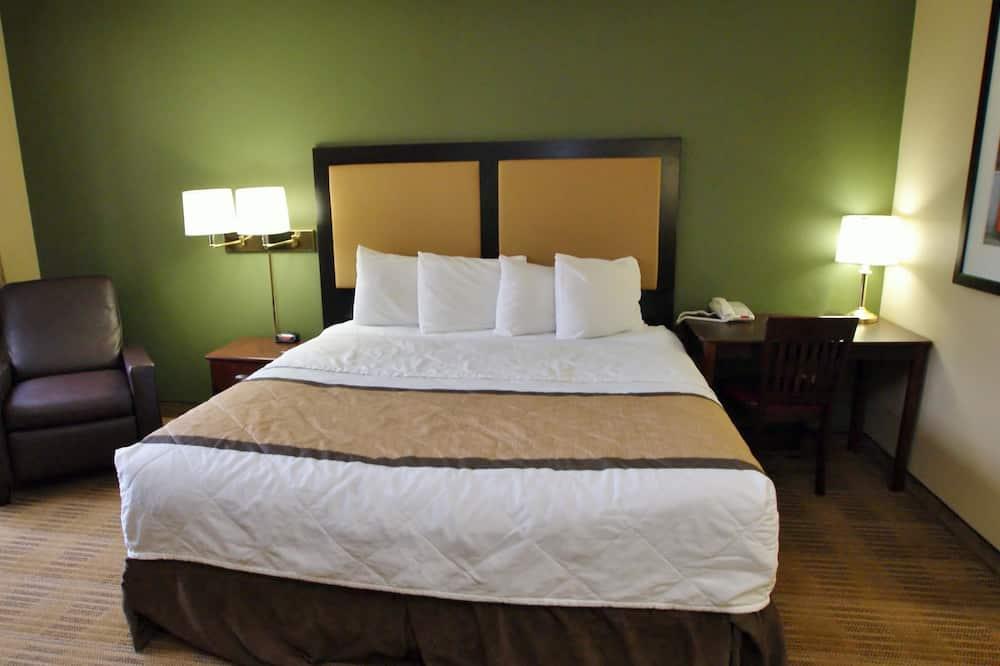 Studija, 1 labai didelė dvigulė lova, su patogumais neįgaliesiems, Nerūkantiesiems - Svečių kambarys