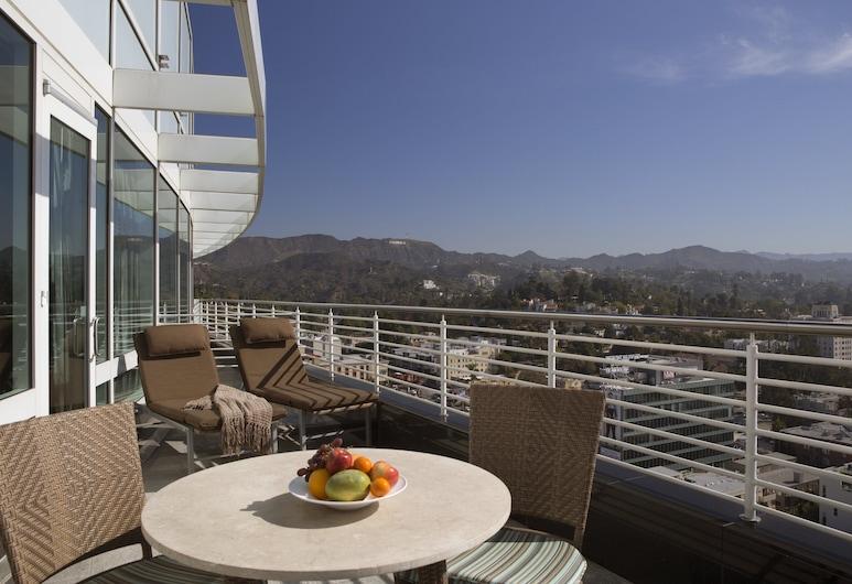 Loews Hollywood Hotel, Los Angeles, Apartament typu Suite, Łóżko king (Producer's Suite), Pokój