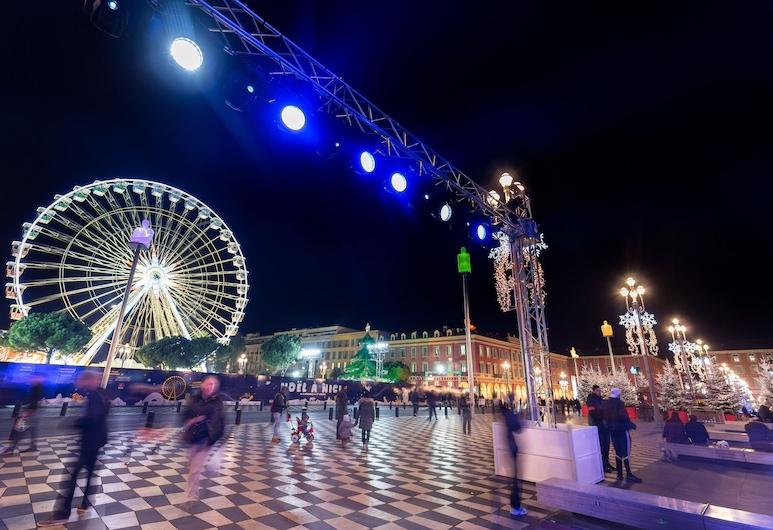 Best Western Lakmi Nice, Nice, Borgarsýn frá gististaðnum