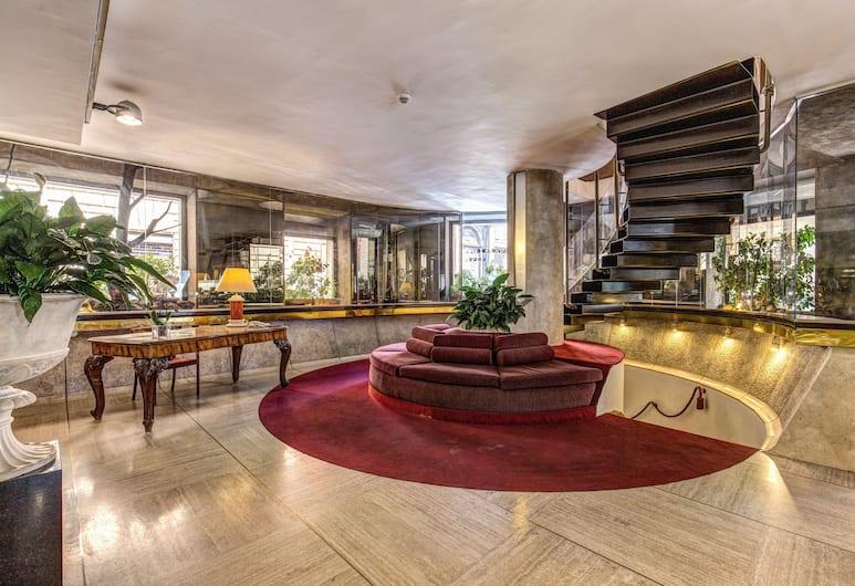 Hotel Londra & Cargill, Rome, Lobby Lounge