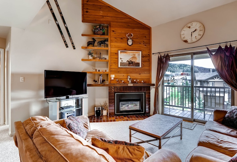 Timber Run by Steamboat Resorts, Steamboat Springs, Apartment, 3 Schlafzimmer, 2 Bäder, Wohnzimmer