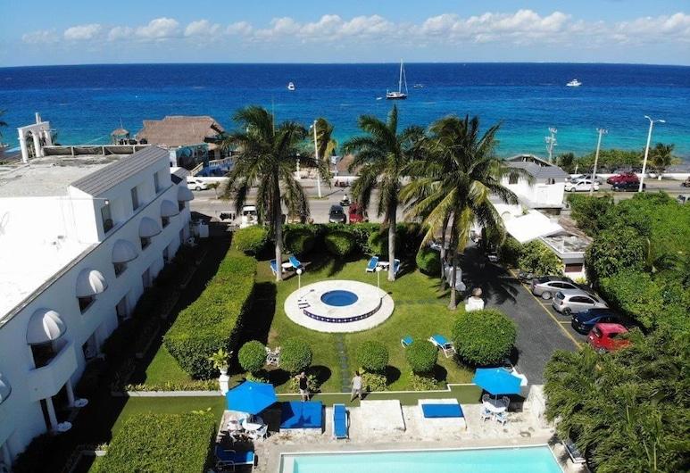 比利亞布蘭卡花園沙灘酒店, 科茲美島, 住宿範圍