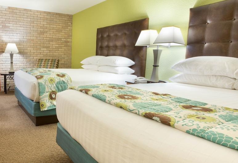 Drury Inn & Suites McAllen, McAllen, Suite, 2 camas Queen size, cocina (2 Rooms, Sofabed), Habitación