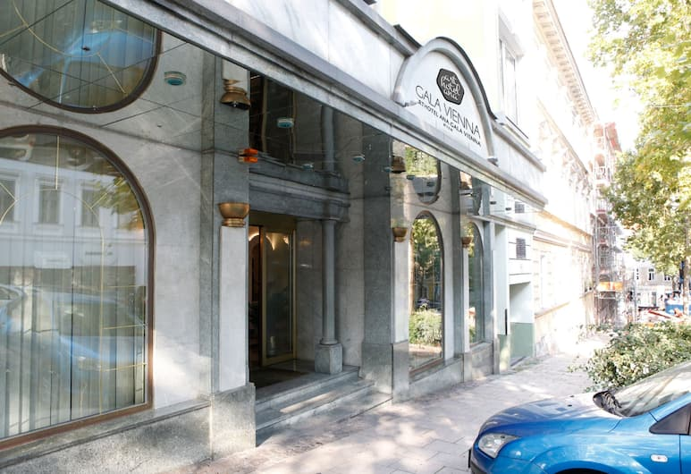 Arthotel ANA Gala, Viedeň, Vchod do hotela