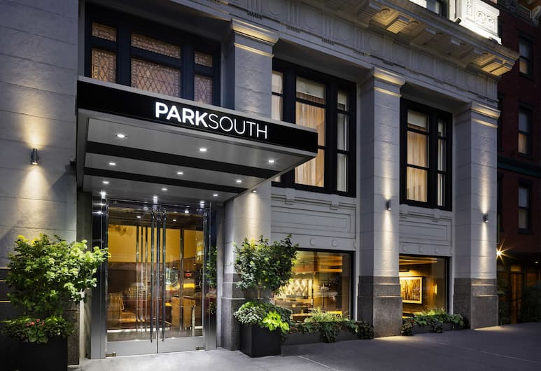 Park South Hotel, New York, Hotellets front – kveld/natt