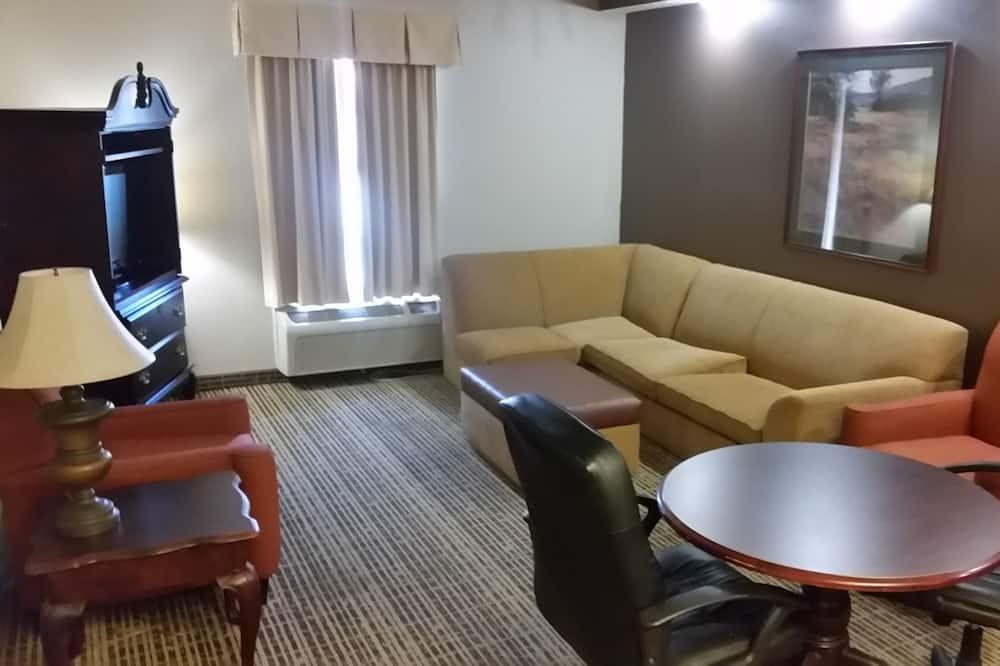 Phòng, 1 giường cỡ king, Phù hợp cho người khuyết tật, Không hút thuốc (Mobility Accessible) - Phòng khách