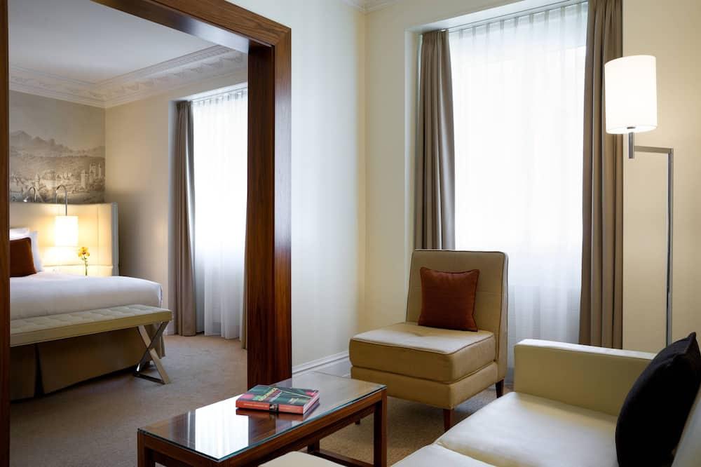 ห้องสตูดิโอสวีท, เตียงใหญ่ 1 เตียง, ปลอดบุหรี่ - ห้องพัก