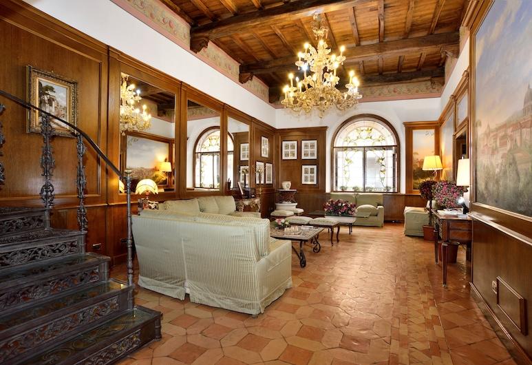 Hotel Pantheon, Rom, Lobby-Lounge