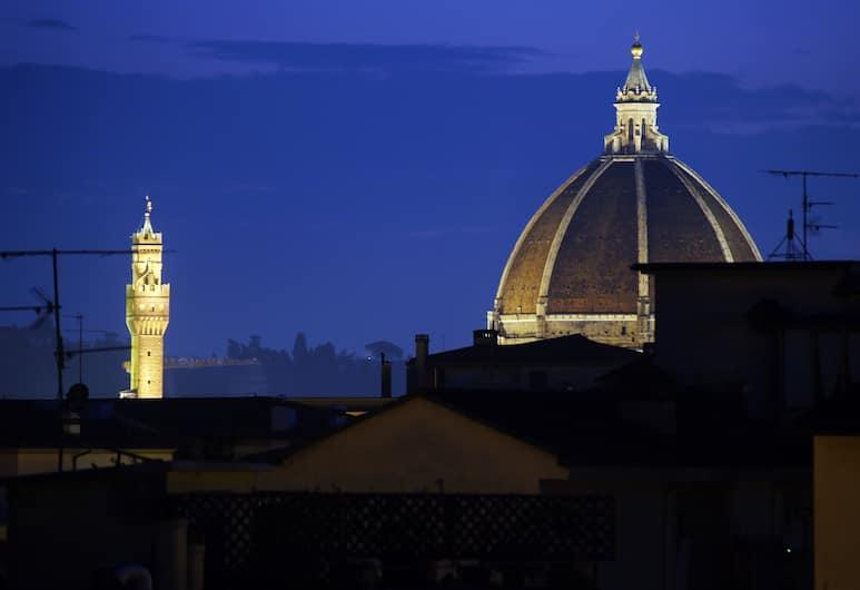 Hotel Meridiana, Florenz, Blick vom Hotel