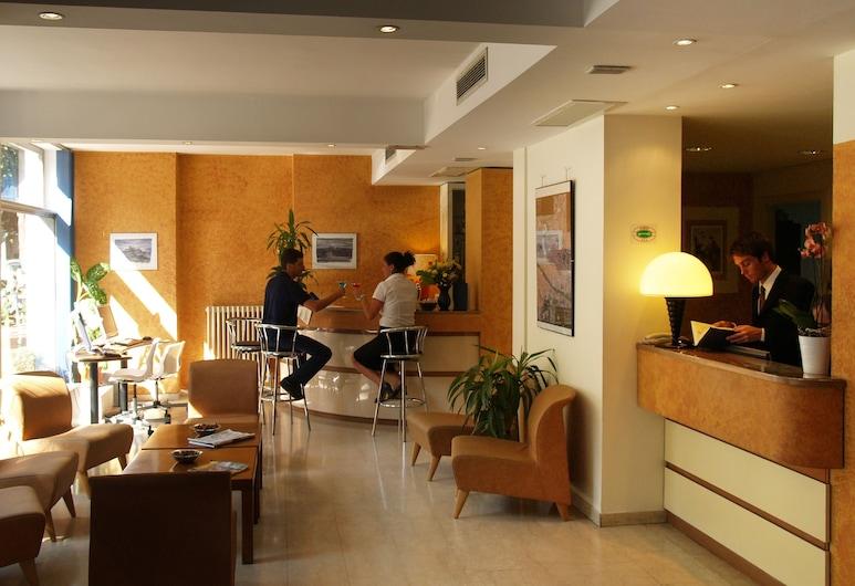 Hotel Meridiana, Florencija, Vestibiulio laukiamasis