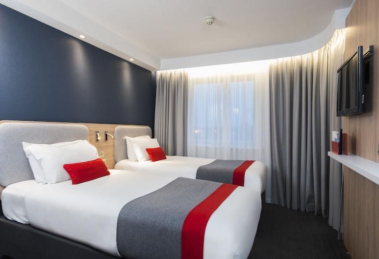 Holiday Inn Express London Hammersmith, London, Zimmer, 2Einzelbetten, Nichtraucher, Zimmer
