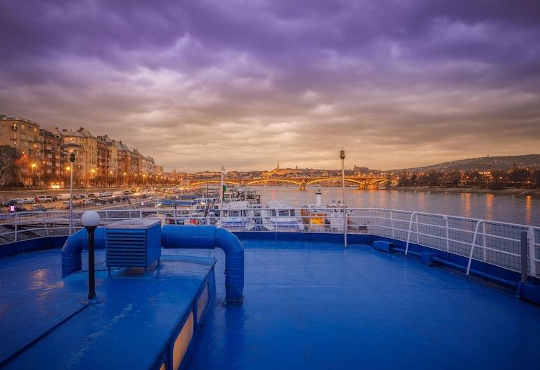 Fortuna Boat Hotel and Restaurant, Budapeste, Vista a partir do Hotel