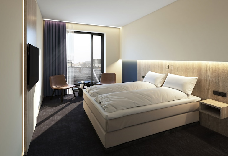 Thon Hotel Norge, Kristiansand, Dobbeltrom – standard, 1 dobbeltseng, ikke-røyk, Gjesterom