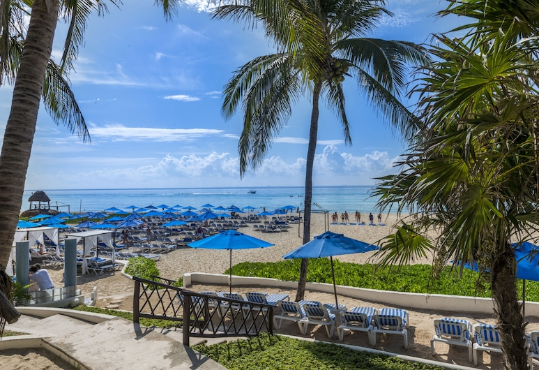 The Reef Playacar Resort & Spa-Optional All Inclusive, Плая-дель-Кармен, Пляж