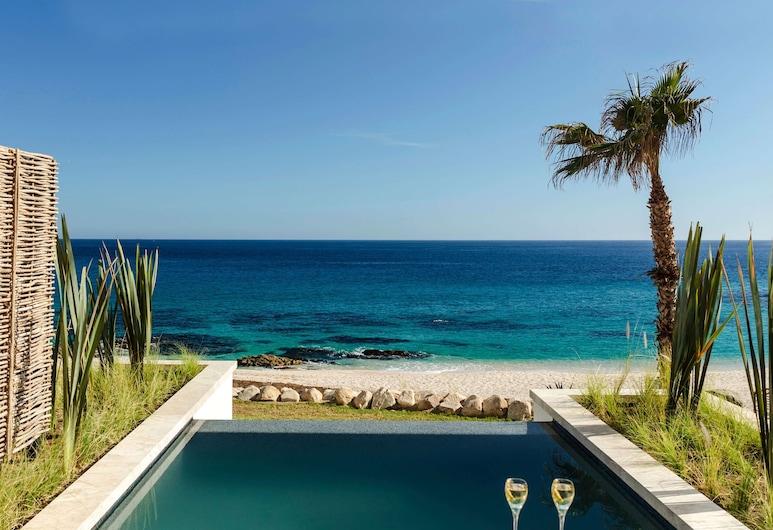 Hilton Los Cabos Beach & Golf Resort, Сан-Хосе-дель-Кабо, Улучшенный номер, 1 двуспальная кровать «Кинг-сайз», с выходом к океану (Plunge Pool), Вид из номера