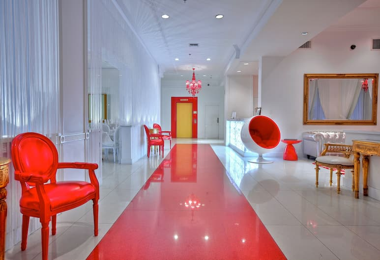 Red South Beach, Miami Beach, Lobby