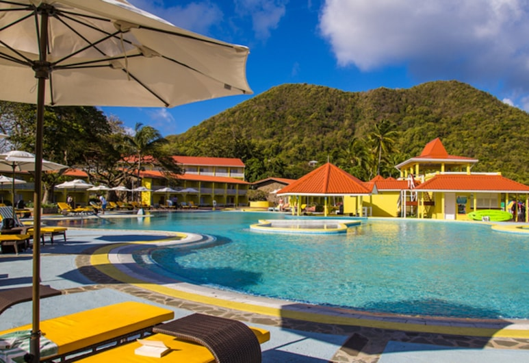 Starfish St Lucia Resort – All Inclusive, Gros Islet, Zwembad