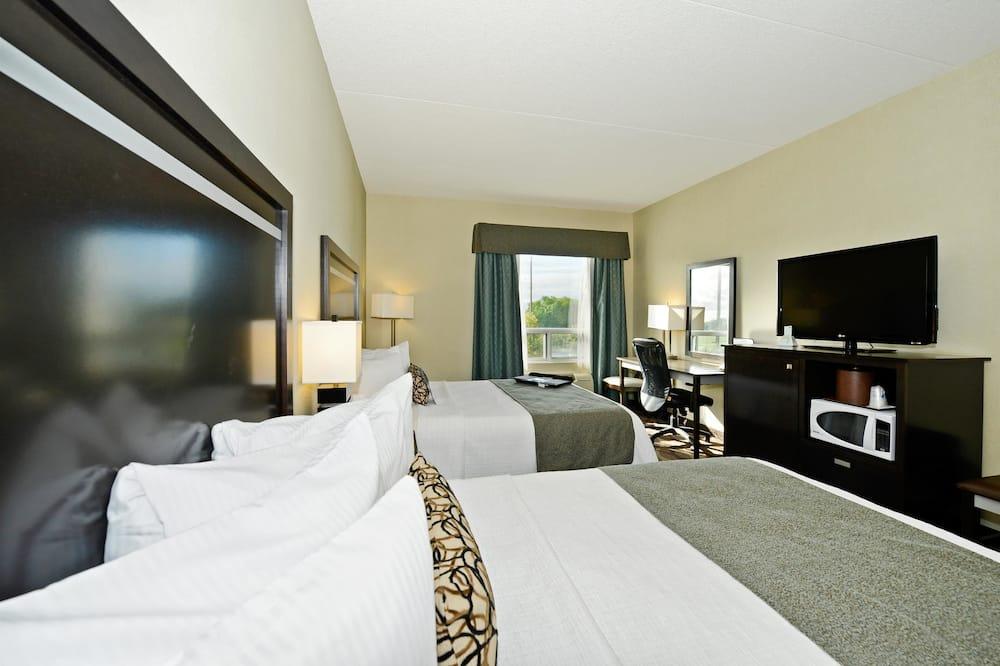 Standard Room, 2 Queen Beds, Non Smoking, Refrigerator & Microwave - Guest Room