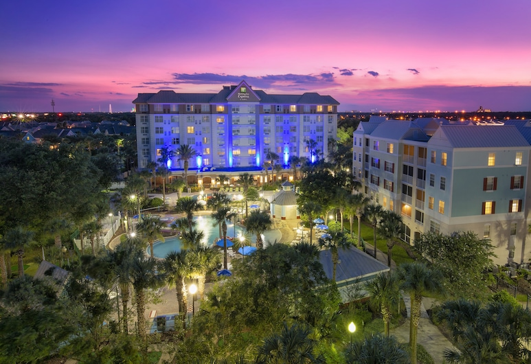 Holiday Inn Express & Suites Orlando-South Lake Buena Vista, Kissimmee, Udendørsareal