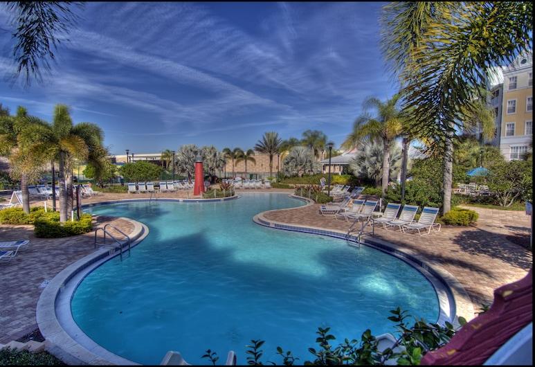 Holiday Inn Express & Suites Orlando-South Lake Buena Vista, Kissimmee, Wasserrutsche