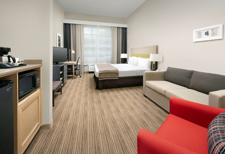 Country Inn & Suites by Radisson, Houston Intercontinental Airport East, TX, Humble, Rum - 1 kingsize-säng - tillgänglighetsanpassat - icke-rökare, Gästrum