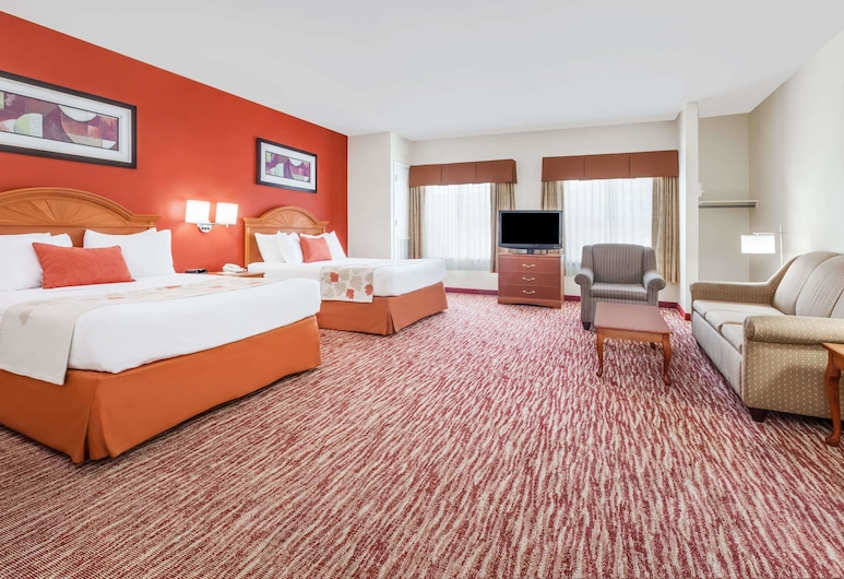 Hawthorn Suites by Wyndham Irving DFW South, Irving, Suite, 2 Queen Beds, Guest Room