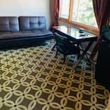 Pokój Deluxe, 2 łóżka queen, widok na miasto - Salon