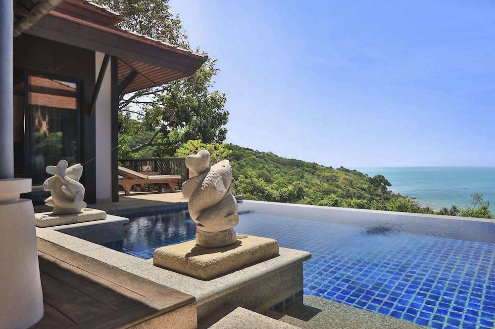 Hillside Ocean View Private Pool Villa 2 Bedrooms - Free Krabi Airport Transfer - Uima-allas