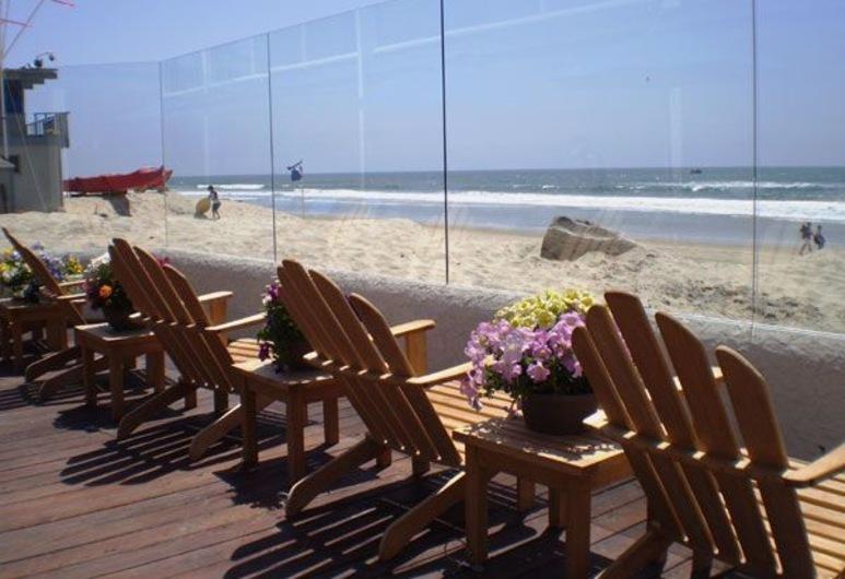 Del Mar Motel on the Beach, Del Mar, Terraza o patio
