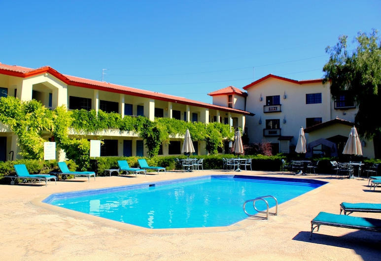 Quinta Dorada Hotel and Suites, Saltiljas, Lauko baseinas