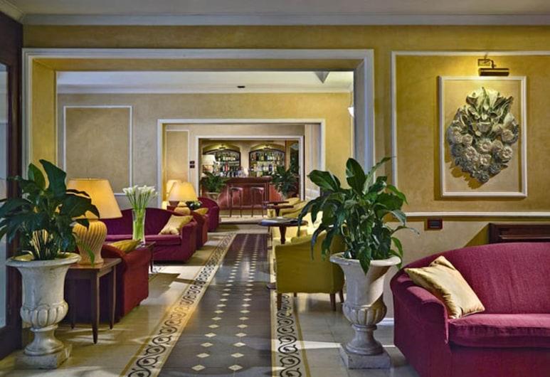 Hotel Corona d'Italia, פירנצה, לובי