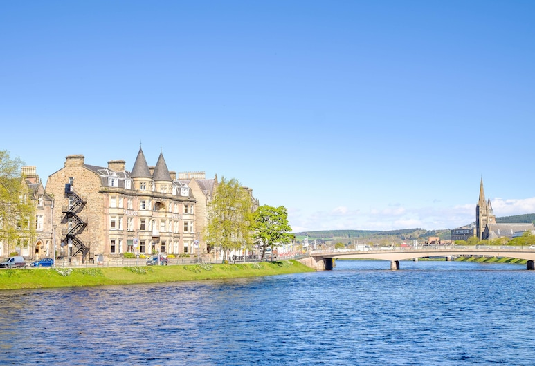 Best Western Inverness Palace Hotel & Spa, Inverness, Hotel Entrance