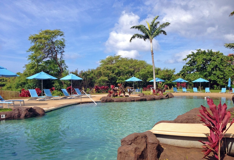 Castle Kiahuna Plantation & Beach Bungalows, Koloa, Sundeck